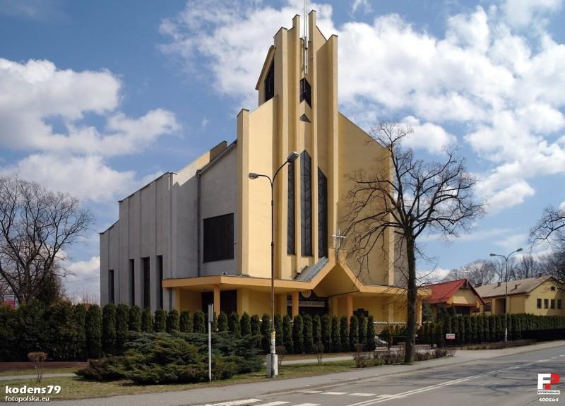 Parafia Giszowiec - Ko�ci� pw. �w. Barbary