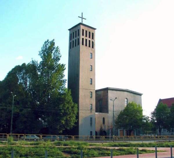 Zawodzie - Kościół pw. Opatrzności Bożej