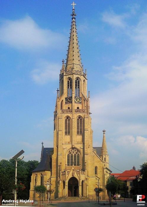 Śródmieście - Kościół pw. Niepokalanego Poczęcia Najświętszej Maryi Panny