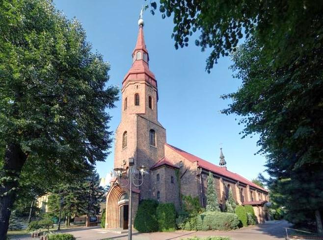 Podlesie - Kościół pw. Matki Boskiej Częstochowskiej