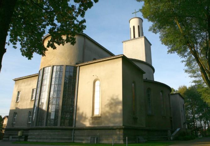 Parafia Murcki - Ko�ci� pw. Naj�wi�tszego Serca Pana Jezusa